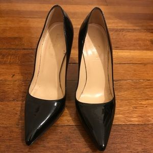 Kate Spade black patent leather stiletto heels